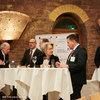 Intensive Gespräche: Ulrike Kuhlmey, Bernd Kohring