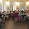 Teilnehmerinnen im Schlosscafe